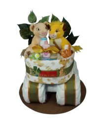 Simba and Nayla diaper bassinet