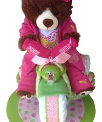 Girls diaper tricycle