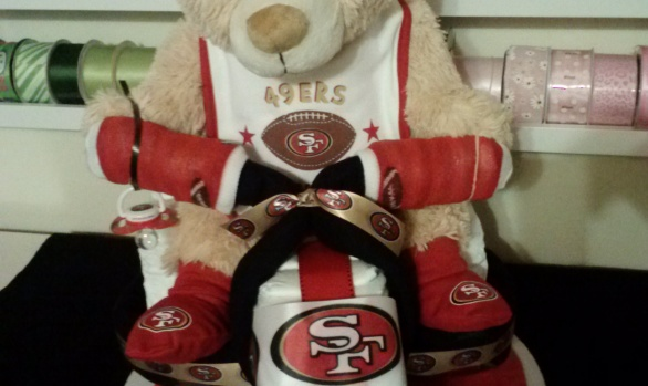49ers diaper tricycle
