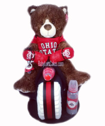 Ohio State diaper tricycle