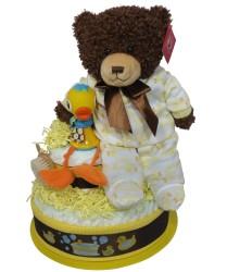Friends diaper cake