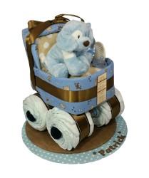Puppy diaper bassinet