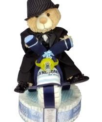 Gemtleman Mister diaper cake